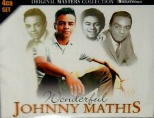 JOHNNY MATHIS ,4 CD BOX NEW! FREE SHIP! WONDERFUL ,48 SONGS ,EASY LISTENING