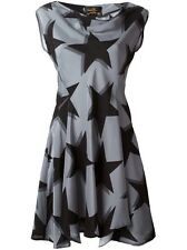 New Designer Vivienne Westwood Anglomalia Antoinette Star Silk Mini Dress 4,$845