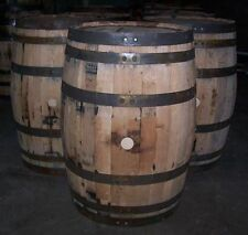 Used Decorative Whiskey Barrel with FREE SHIPPING 48 States
