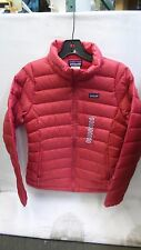 Genuine Patagonia Girl's Jeweled Berry Down Sweater Jacket Size Large