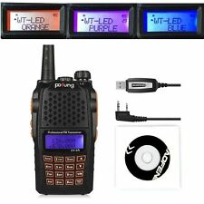 Baofeng UV-6R VHF/UHF Dual Band Radio Talkie Walkie +CD USB  Programmation 2016