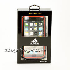 Adidas Sport Armband Case for iPhone 7 Plus iPhone 6s Plus Red/Black New