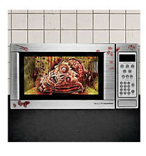 Halloween Microwave Bloody Head and Fingerprints Cling Decoration  GROSS