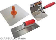 "Aluminium Plasterers 12"" Hawk 11"" Plastering Board Trowel Corner Trowel Plaster"