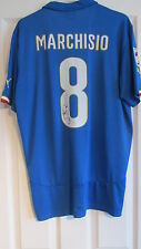 "hand signed "" Claudio Marchisio - Italy "" Home Shirt WITH COA"