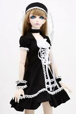 [wamami] 129# Black Dress/Suit/Outfit 1/3 SD DOD DZ BJD Dollfie Doll