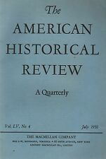 American Historical Review 1950 July-Macmillan Co Spanish Revolution/World Fairs