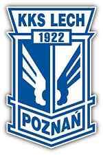 """KKS Lech Poznan FC Poland Football Soccer Car Bumper Sticker Decal 4""""X5"""""""