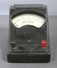 WELSH SCIENTIFIC D.C. VOLMETER MODEL 3031 VINTAGE SCHOOL SURPLUS