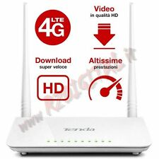 ROUTER MODEM DSL 3G 4G LTE TENDA 4G630 SIM INTERNET UNIVERSALE USB  WIRELESS 300