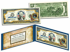 NEW MEXICO Statehood $2 Two-Dollar Colorized U.S. Bill NM State *Legal Tender*