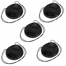 5 pcs 67mm Center Pinch Snap on Front Cap For Sony Canon Nikon Lens Filters 67mm