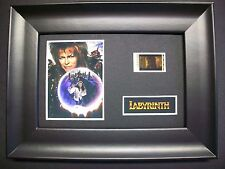 LABYRINTH Framed Movie Film Cell Memorabilia Compliments poster dvd