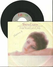 "Sheena Easton, For your Eyes only, G-/VG 7"" Single, 0137"