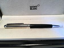MONTBLANC MEISTERSTUCK PIX 104545 925 SOLITAIRE DOUE BARLEY BALLPOINT SILVER