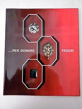 CATALOGO CALDERONI GIOIELLI PER DONARE TESORI 1967 preziosi  B4