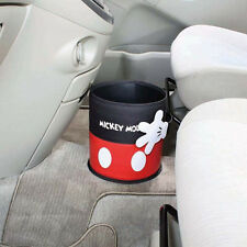 New DISNEY Mickey Mouse Trash box Rubbish Garbage Container Car Accessories