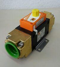 Kobold DVZ vortex Durchflusssensor 63L/min analog Flow Meter 60331.5