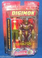 DIGIMON Hybrid-Digivolving BURNINGGREYMON New Spirit Takuya RARE