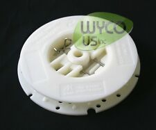 PAD HOLDER, CENTER LOK 3 BY MALISH, CREME COLOR, FOR FLOOR SCRUBBERS