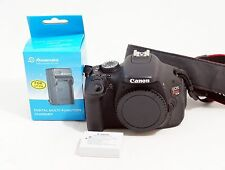 Canon EOS Rebel T3i / 600D 18.0 MP Digital SLR Camera Body ONLY 4K SHUTTER COUNT