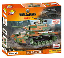 Small Army, World of Tanks, 3013, M24 CHAFFEE Tank, 370 building bricks by Cobi