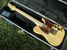 JB Player Telecaster Custom - Natural w/ Binding - Gold Hardware