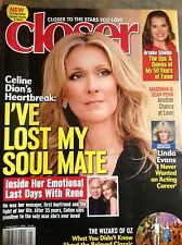 CELINE DION Closer Magazine February  2016 Brooke Shields THE WIZARD OF OZ Bowie