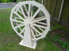 """Candy Cart Ferris Wheel Colour White for Sale 3 Ft in Diameter 12 Buckets 4"""""""