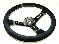 Sparco Steering Wheel - L777 (350mm/63mm Dish/Suede)