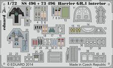 Eduard Zoom SS496 1/72 Bae Harrier GR.1 Airfix