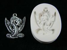 Dragon Standing Polymer Clay Mold (#MD1456)
