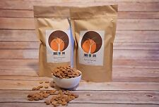 (2 LBS) WILD Raw Natural Bitter Apricot Kernels seeds! No shell, ready to eat.