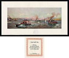 Ismail Hakki Bey Schlacht Gallipolli Dardanellen Marine Türkei engl. Flotte 1915