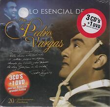 CD - Lo Esencial De Don Pedro Vargas NEW 3 CD's & 1 DVD FAST SHIPPING !