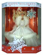 BARBIE - Poupée Happy Holidays 1989 blonde Mattel Special Edition neuve Misb