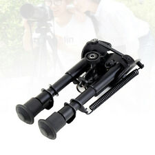 6in-9in Rifle Bipod Fore Grip Shooter Mount TACTICAL Eject Rail Ridge Rock#M