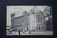 Carte Postale Ancienne CPA animée EVREUX - Le Théâtre