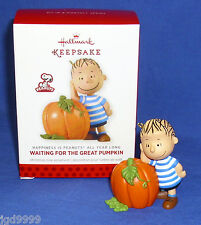 Hallmark Happiness is Peanuts #3 Linus Halloween Waiting For The Great Pumpkin