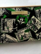 NWT SAMANTHA THAVASA Disney Sleeping Beauty Maleficent Large Zippy Wallet