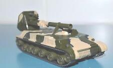 1/72 2S4 Tulip Soviet self-propelled mortar model die cast & mag 16 Eaglemoss
