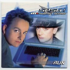 Sash feat. Boy George Maxi-CD Run - 3-track promo in cardsleeve - VGP000451