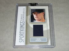 2008 Sportkings JUSTIN MORNEAU Game Used Jersey/30 Team Canada / TWINS-ROCKIES