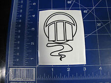 vintage RARE Z Flex skateboard sticker Zephyr Jellyfish resto deck black