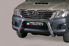 "Toyota Hilux 2011-2016 Ø76mm BULL BAR NUDGE BAR ""CE APPROVED"" Frontbügel"