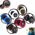 Wireless Bluetooth Stereo Sport Headset Headphone Earphone Earbuds for Samsung