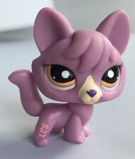 Littlest Pet Shop LPS PURPLE FOX 5.5cm 2007 TOY FIGURE #1536