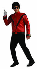 Mens Michael Jackson Deluxe Thriller Red Jacket  Adult Size Large