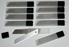100 Cuttermesser Ersatzklingen Abbrechklingen Teppichmesser 18mm 10x101477