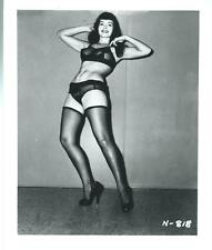 BETTIE PAGE PIN-UP ORIGINAL PHOTO FROM VINTAGE IRVING KLAW NEGATIVE #N818